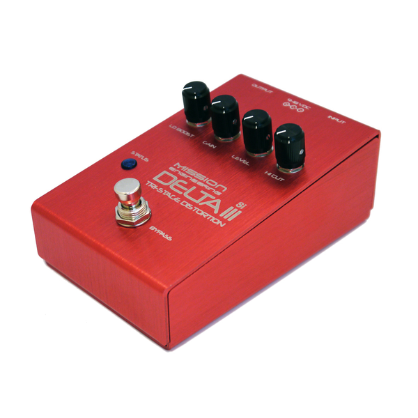 Mission Engineering Delta III Tri-Stage Distortion Pedal - Bananas at Large