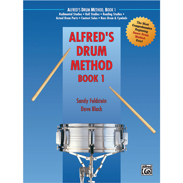 Alfred Drum Method Book 1 - Book and DVD (Sleeve) - Bananas at Large