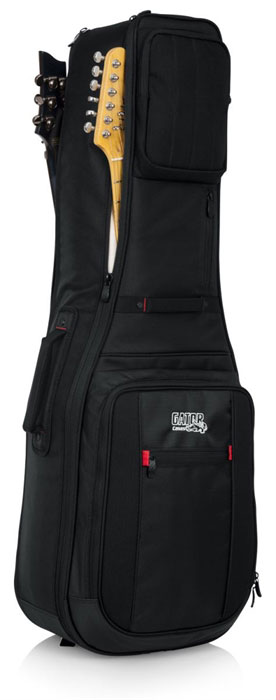 Gator G-PG ELEC 2X ProGo Series Ultimate Gig Bag for 2 Electric Guitars - Bananas at Large - 1