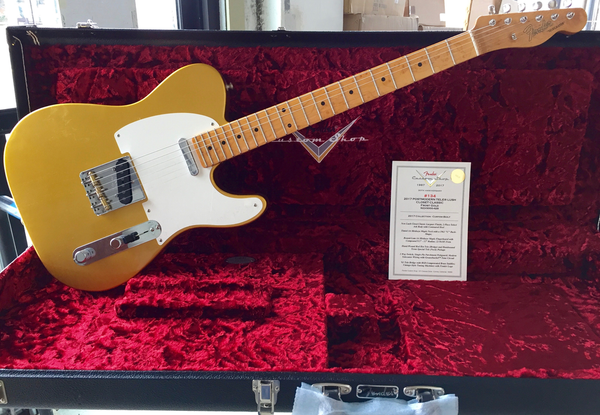 Fender Custom Shop #134 Lush Closet Classic Postmodern Telecaster with Maple Fingerboard - Frost Maple