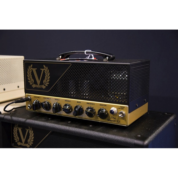 Victory Amplification Sheriff 22 22watt all valve Tube Head - Bananas at Large