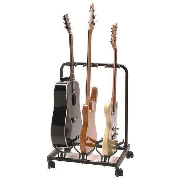 Quik Lok GS-430 Universal Multiple Guitar Stand - Holds 3 Guitars - Bananas at Large