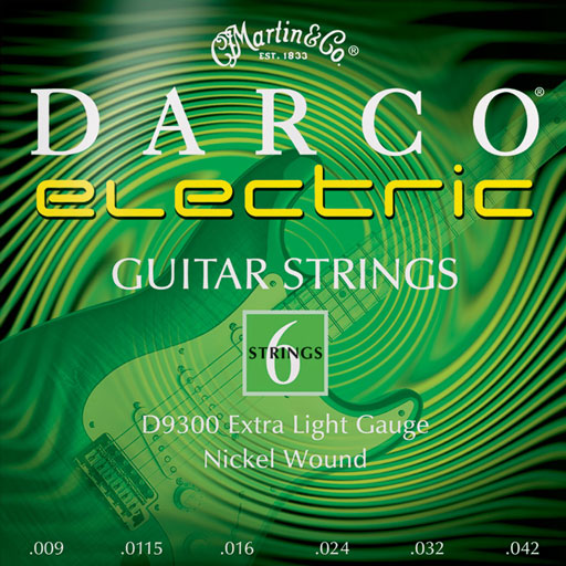 Martin D9300 Darco Electric Strings Extra Light - Bananas at Large