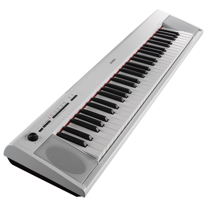 Yamaha NP-12 Piaggero 61 Key Digital Piano - White - Bananas at Large - 2