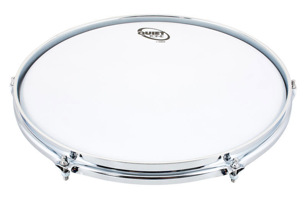 Sabian QT-14SD, 14 Inch Quiet Tone Classic Snare Drum Practice Pad - Bananas at Large - 1