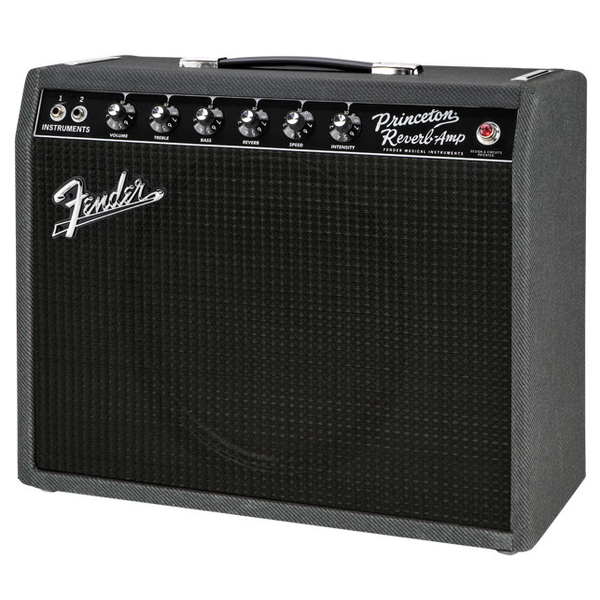 Fender Limited Edition 68 Custom Princeton Black with 12 in. Celestion Blue Alnico Speaker