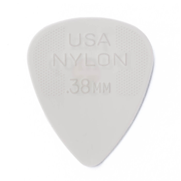 Dunlop 44P 12 Pack Nylon Standard .38mm Guitar Picks
