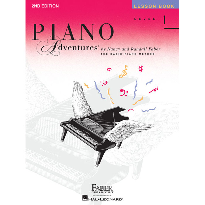 Hal Leonard Piano Adventures Level 1 Lesson Book 2nd Edition - Bananas At Large®