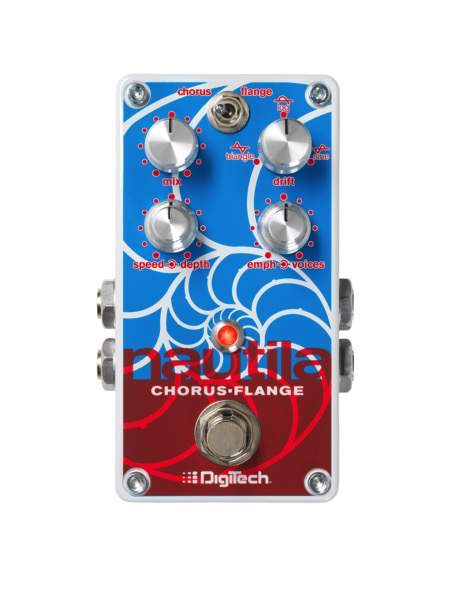 Digitech Nautila Chorus-Flanger Pedal - Bananas at Large - 1