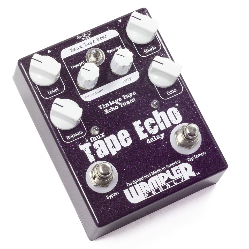 Wampler Faux Tape Echo Pedal - Bananas at Large