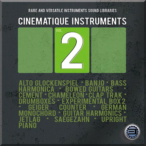 Best Service Cinematique Instruments 2 Library with Unique Instruments [Download] - Bananas At Large®