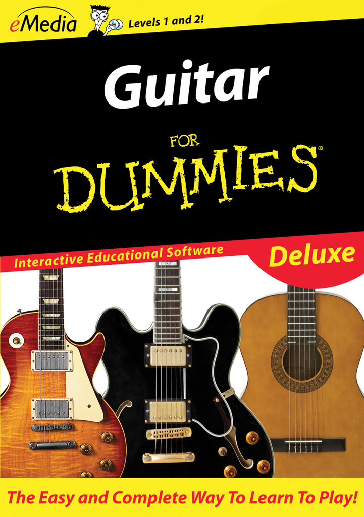 eMedia Guitar For Dummies Deluxe [Download] - Bananas at Large - 2