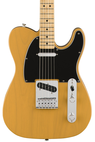 Fender Standard Telecaster with Maple Fingerboard - Butterscotch Blonde