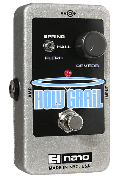 Electro-Harmonix Holy Grail Nano Reverb Pedal - Bananas at Large