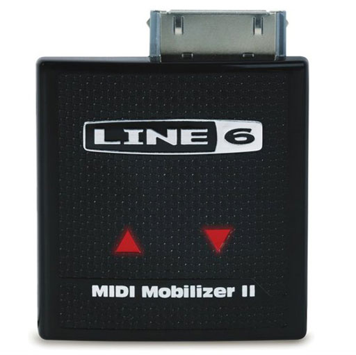 Line 6 Midi Mobilizer II Hardware MIDI Interface Accessory For Apple iPhone and iPod touch - Bananas at Large