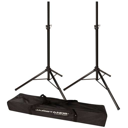 Ultimate Support JamStand JS-TS50-2 Pair of Tripod Speaker Stand with Carrying Bag (Pair) - Bananas at Large