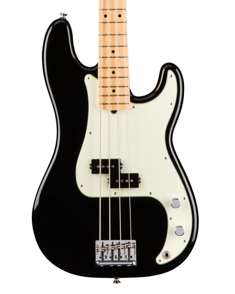 Fender American Pro Precision Bass Maple Fingerboard - Black - Bananas at Large - 1