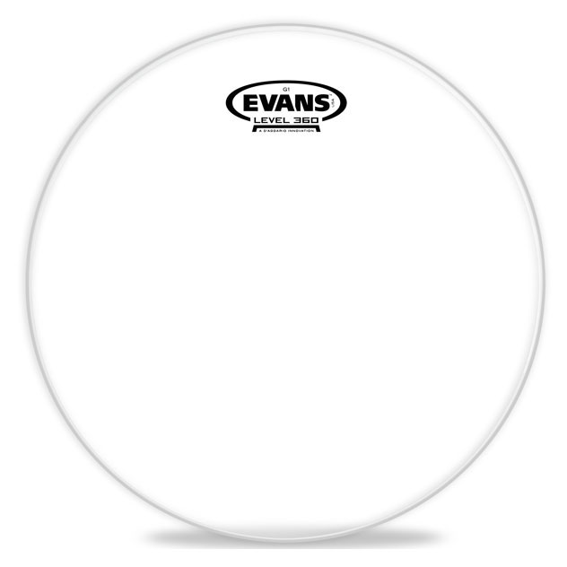 Evans ETP-G1CLR-R G1 Clear Tom Drum Head Pack-Rock - 10 inch, 12 inch, 16 inch - Bananas At Large®