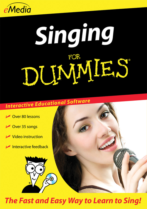 eMedia Singing For Dummies - Win [Download] - Bananas at Large - 2