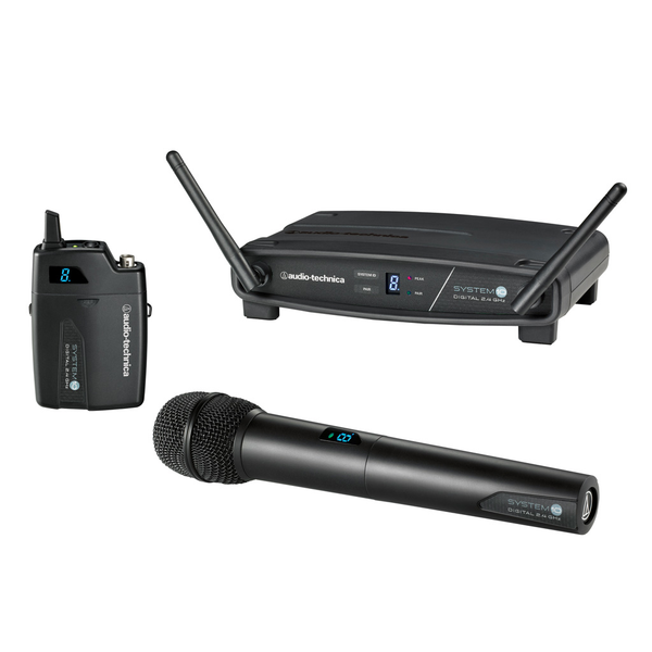 Audio Technica ATW-1101/G System 10 Stack-mount Digital Wireless System - Bananas at Large