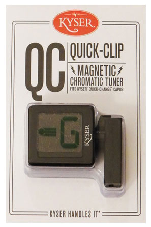 Kyser KQCT1 Quick Clip Tuner