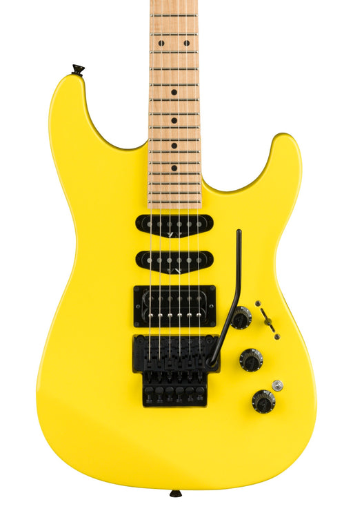 Fender Limited Edition HM Stratocaster with Maple Fingerboard - Frozen Yellow