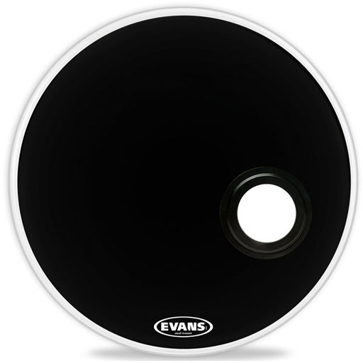 Evans BD18REMAD EMAD Resonant Bass, 18 Inch - Bananas at Large
