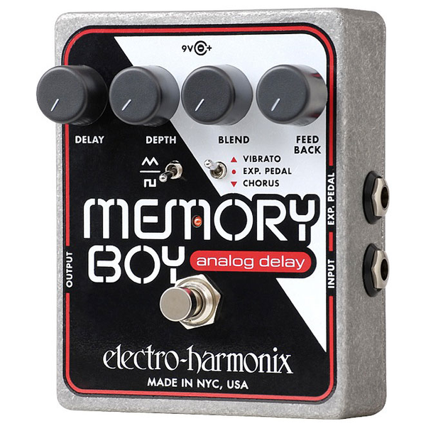 Electro Harmonix MEMORY BOY Analog Delay with Chorus/Vibrato - Bananas At Large®