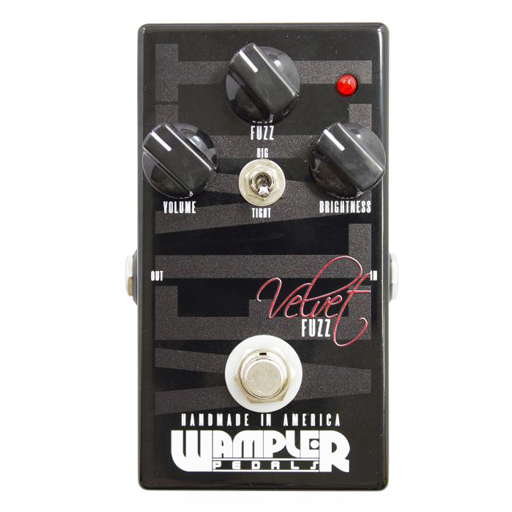 Wampler Velvet Fuzz Pedal - Bananas at Large
