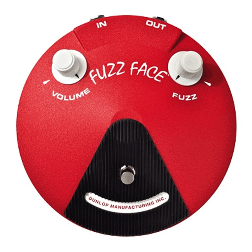 Dunlop JHF3 Band of Gypsys Fuzz Face Limited Edition - Bananas at Large