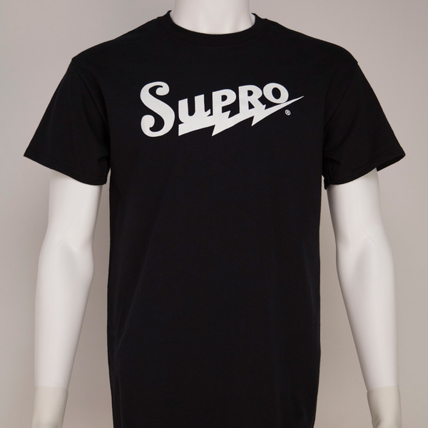 Supro Classic Medium T-Shirt - Black