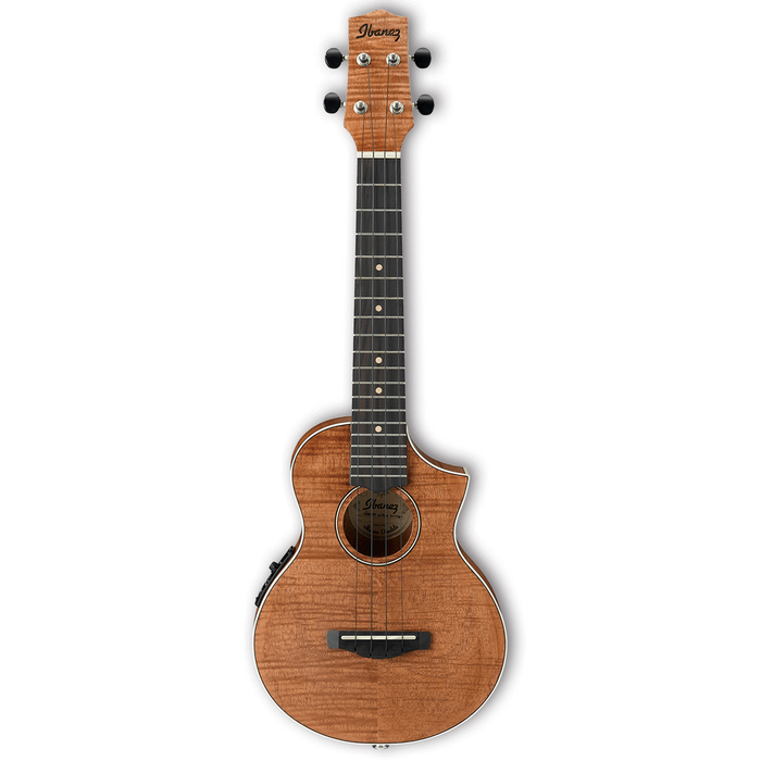 Ibanez UEW15E Concert Acoustic Electric Ukulele - Open Pore Natural