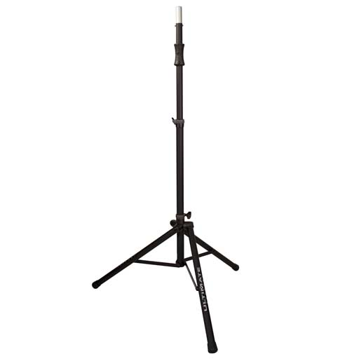 Ultimate Support TS-100B Air-Powered Series Lift Assist Aluminum Tripod Speaker Stand  (Single) - Bananas at Large