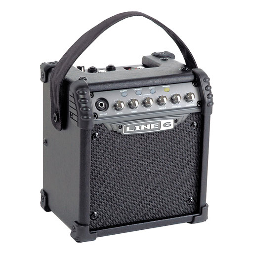 Line 6 Micro Spider 6W 1x 6.5-Inch Guitar Combo Amp, Black - Bananas at Large