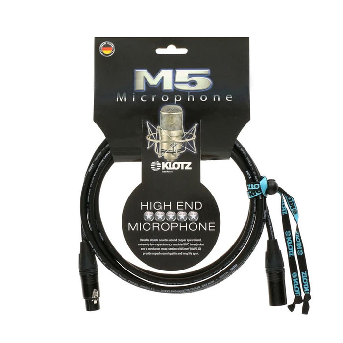 Klotz Microphone Cable M5 Series - 20ft