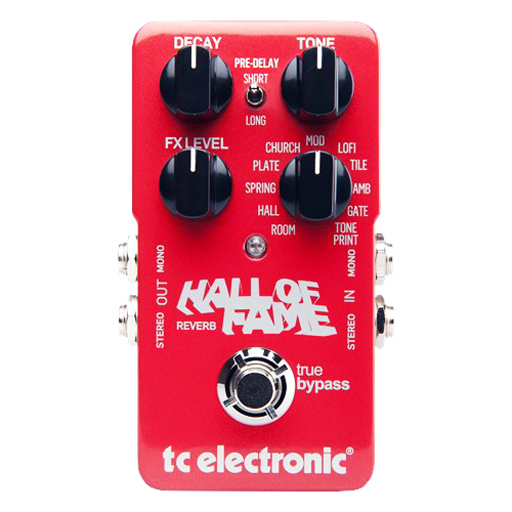 TC Electronic Hall of Fame Reverb Pedal - Bananas at Large