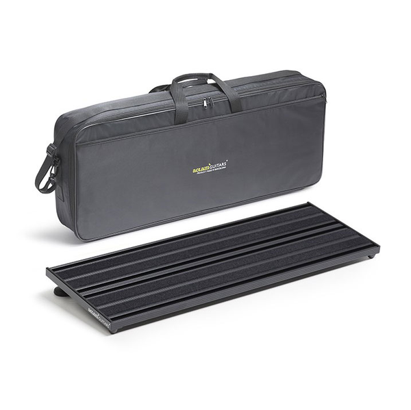 Aclam Guitars Evo Track L2 Pedalboard with Softcase - Black - Bananas At Large®