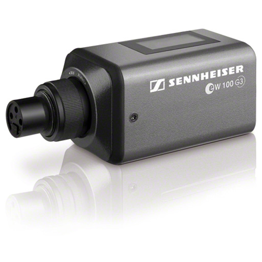 Sennheiser SKP 100 G3 Plug-on Transmitter for Use with Sennheiser EW 100 - Bananas at Large