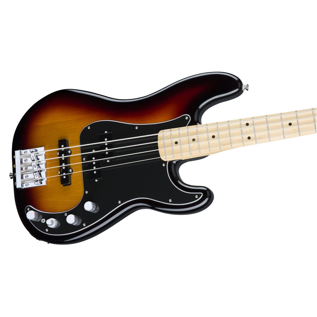 Fender Deluxe Active P Bass Special with Maple Fingerboard - 3 Color Sunburst - Bananas at Large - 3