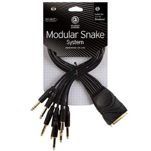 Planet Waves Modular Snake TRS Breakout Cable - Bananas at Large
