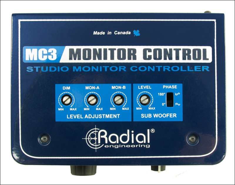 Radial Engineering MC3 v2 Monitor Controller - Bananas at Large - 1