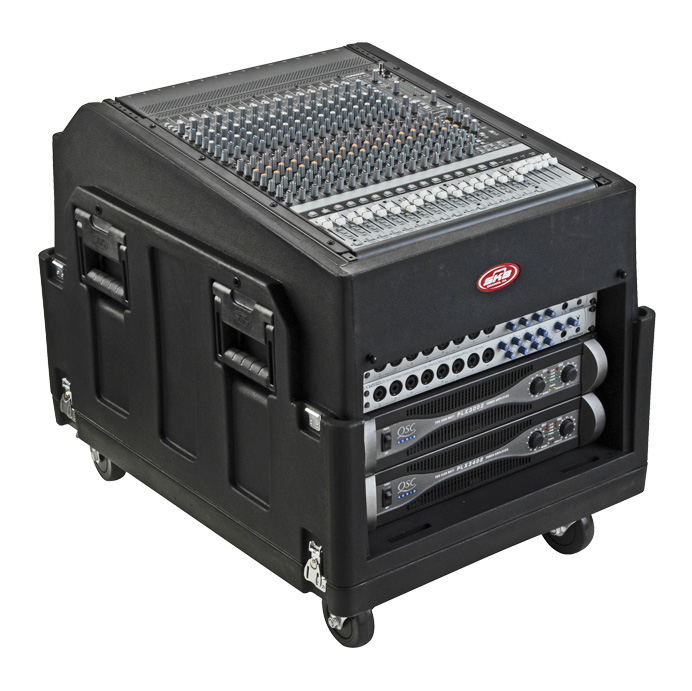 SKB 1SKB19-R1406 12X8 Gig Rig Rack Case - Bananas at Large - 2