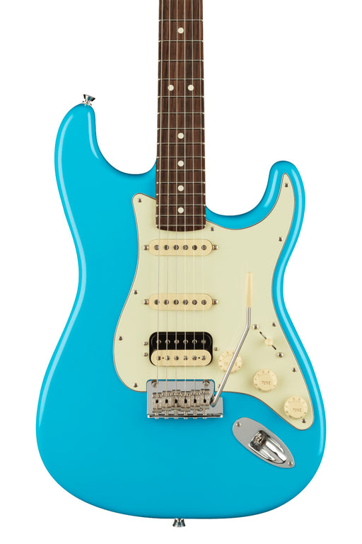 Fender American Professional II Stratocaster HSS, Rosewood Fingerboard - Miami Blue