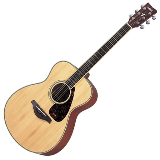 Yamaha FS720S Acoustic Guitar, Natural - Bananas at Large