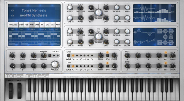 Tone 2 Nemesis Synthesizer [Download] - Bananas at Large