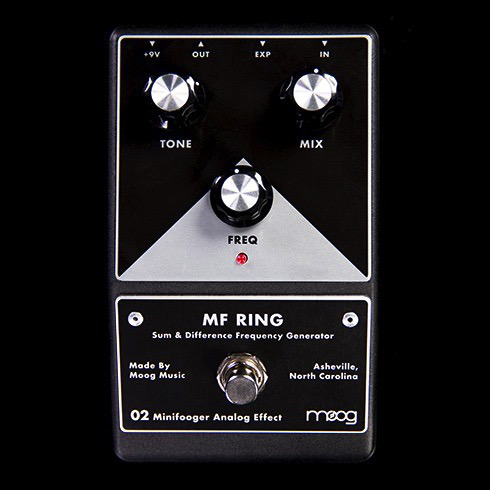 Moog MFS-Ring-02 MF Minifooger Ring Modulator Pedal - Bananas at Large - 1