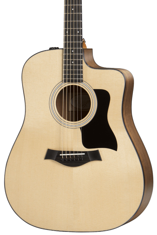 Taylor 110ce Dreadnought Acoustic Electric Guitar - Layered Walnut Back and Sides