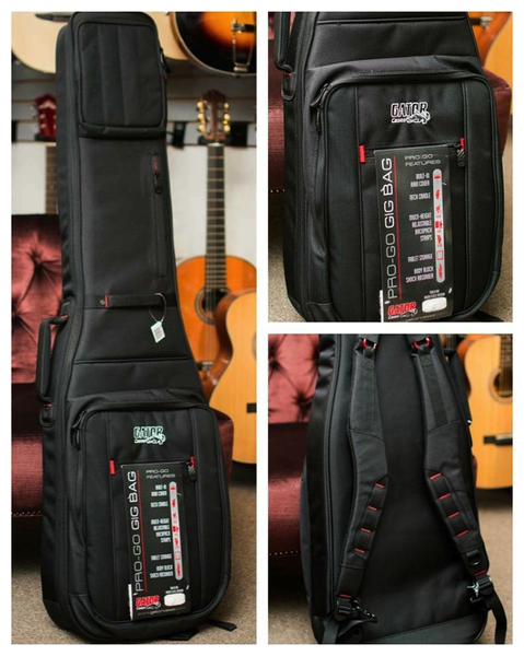 Gator G-PG BASS ProGo Series Ultimate Gig Bag for Bass - Bananas At Large®