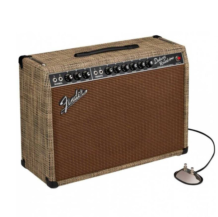 Fender Limited Edition 65 Deluxe Reverb in Chilewich Bark