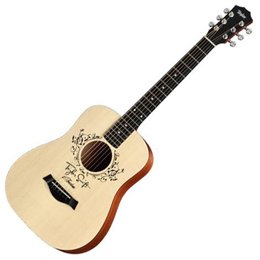 Taylor Swift Baby Taylor Acoustic Guitar with Custom Rosette - Bananas at Large